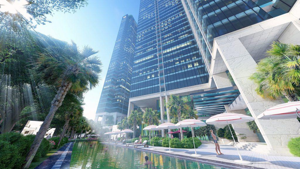 Dòng sông nội khu là điểm nhấn của dự án Sunshine City Sài Gòn