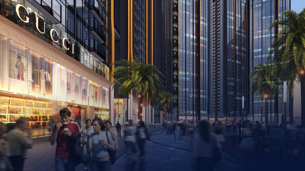 Trung tâm thương mại sang trọng ngay tại dự án