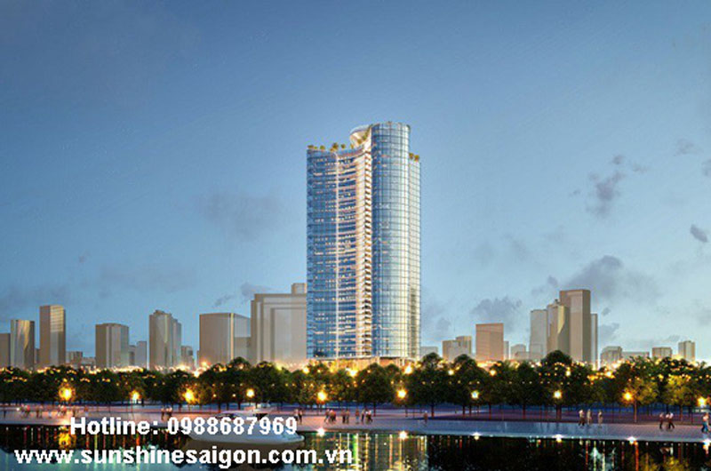 Phối cành dự án Sunshine Thủ Thiêm Quận 2 xứng tấm căn hộ hạng sang 6 sao