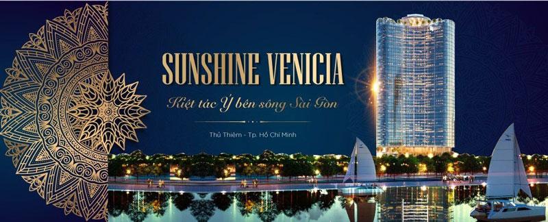 Thiết kế Sunshine Venicia được lấy ý tưởng từ Ý, chủ đầu tư Sunshine Group muốn kiến tạo 1 kiệt tác Ý bên Sông Sài Gòn Thủ Thiêm