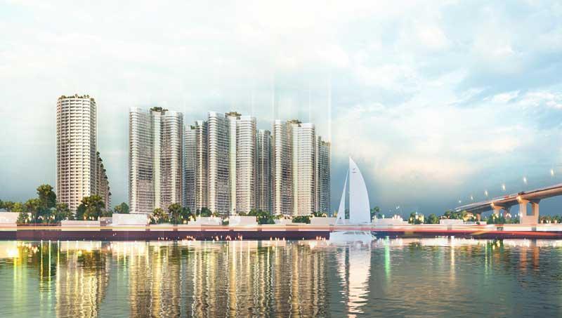 Sunshine Diamond Q7 là 1 khu nghỉ dưỡng sinh thái hiện đại bậc nhất Nam Sài Gòn