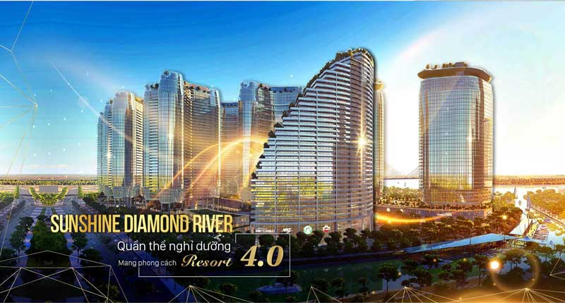Sunshine Group mở bán dự án căn hộ Sunshine Diamond River Đường Đào Trí Quận 7