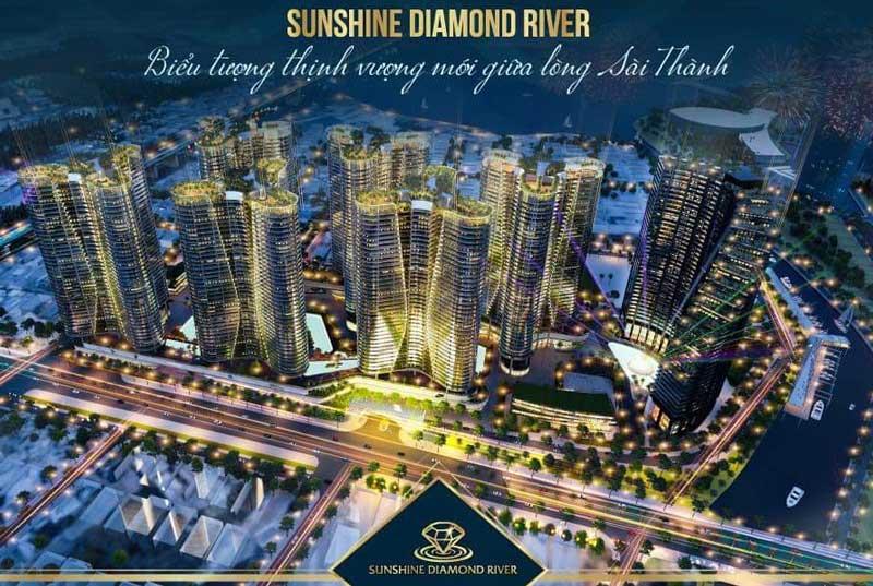 Sunshine Diamond Quận 7 có Thiết Kế Hiện đại và là biểu tượng mới tại Sài Thành