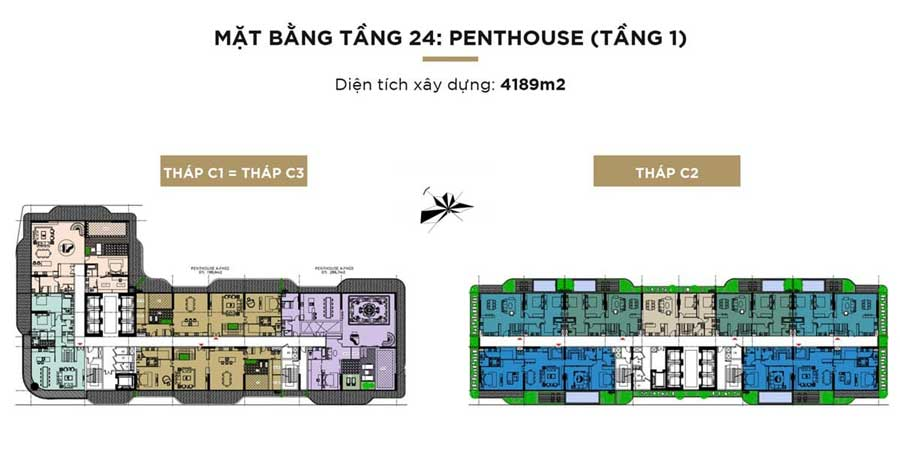 PENTHOUSE TẦNG 24